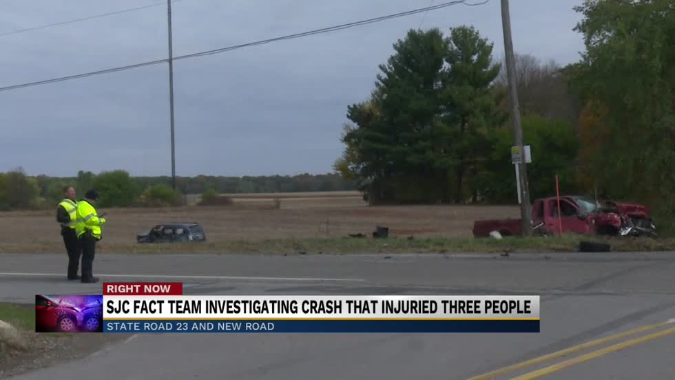 FACT investigating crash at State Road 23 and New Road that injured...
