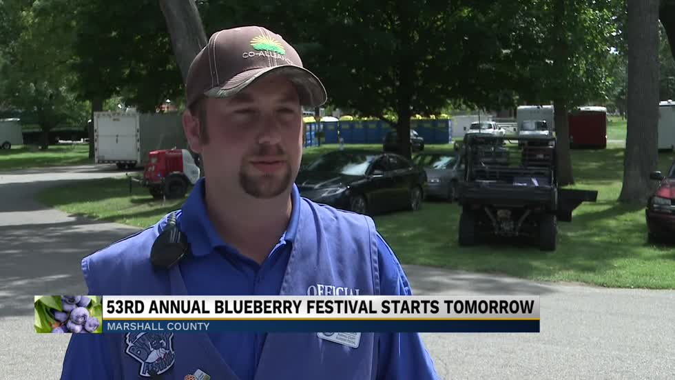 Marshall County Blueberry Festival kicks off Friday