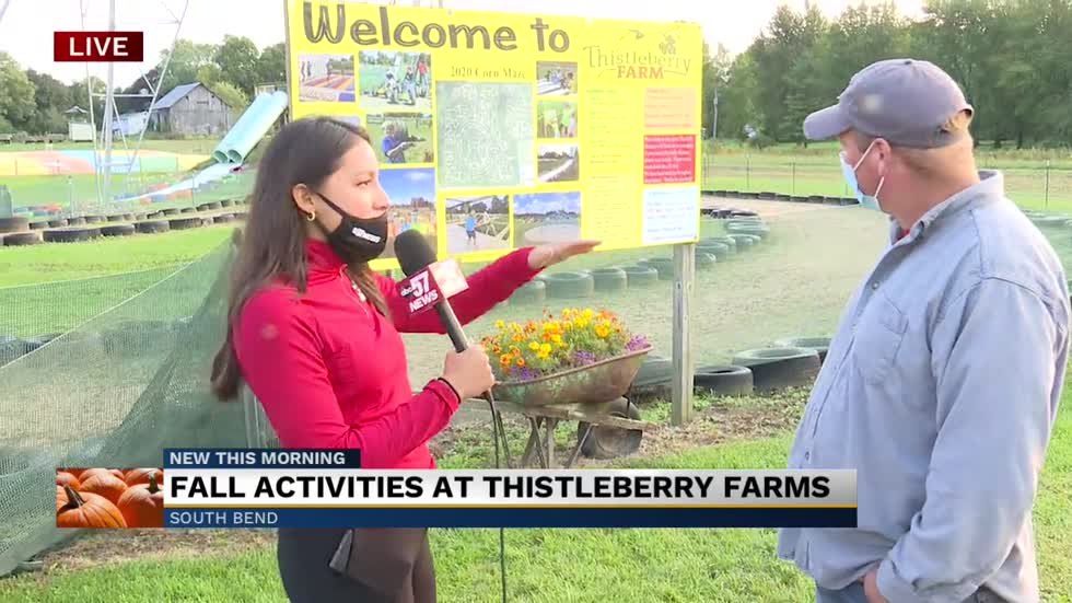 Fall activities resume at Thistleberry Farm in South Bend
