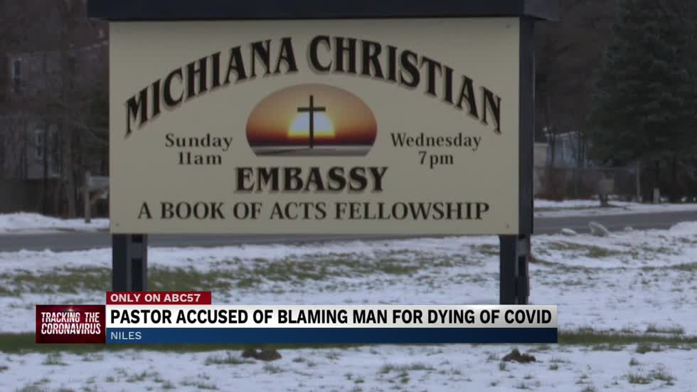 Family accuses pastor of seemingly blaming parishioner for COVID-19 death
