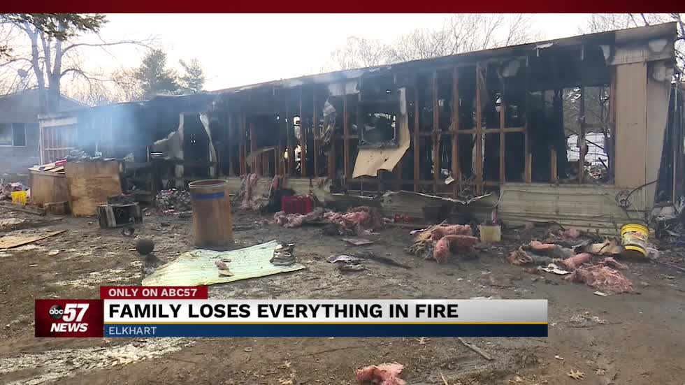 Family loses everything in fire