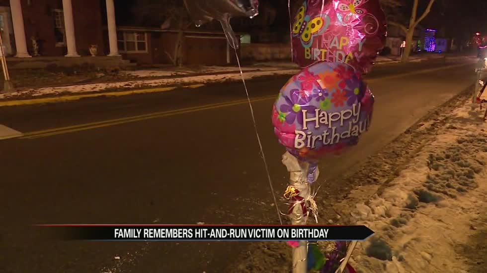 Family of Elkhart hit and run victims remember Dolly on first birthday