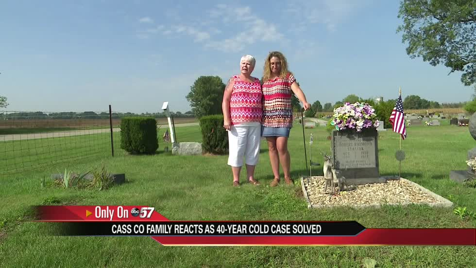 Family reacts after 40-yr-old Cass County cold case ends in sentencing
