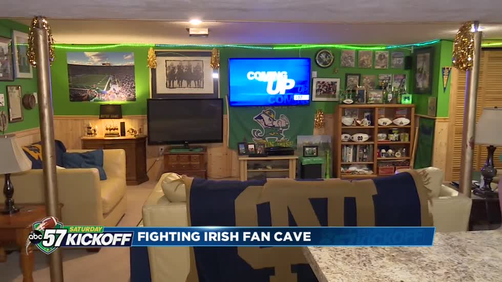 Fan Cave: Inside John Adams baseball head coach's basement
