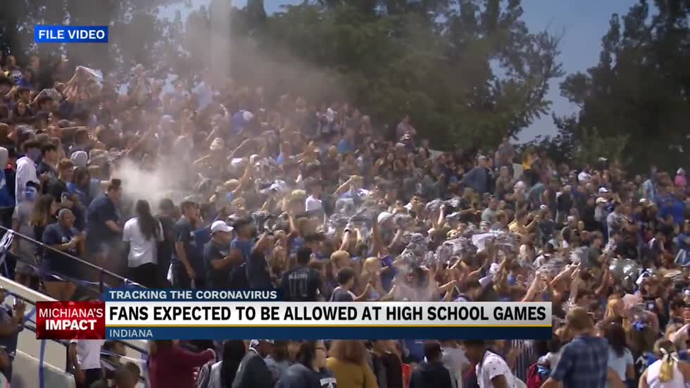 IHSAA preparing to allow fans at high school football games