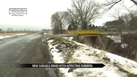 Farmers raise concerns over proposal to move ditch