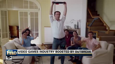 The Feed: Video games dominating during quarantines