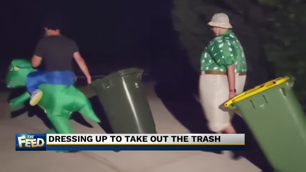 The Feed: Taking out the trash in style