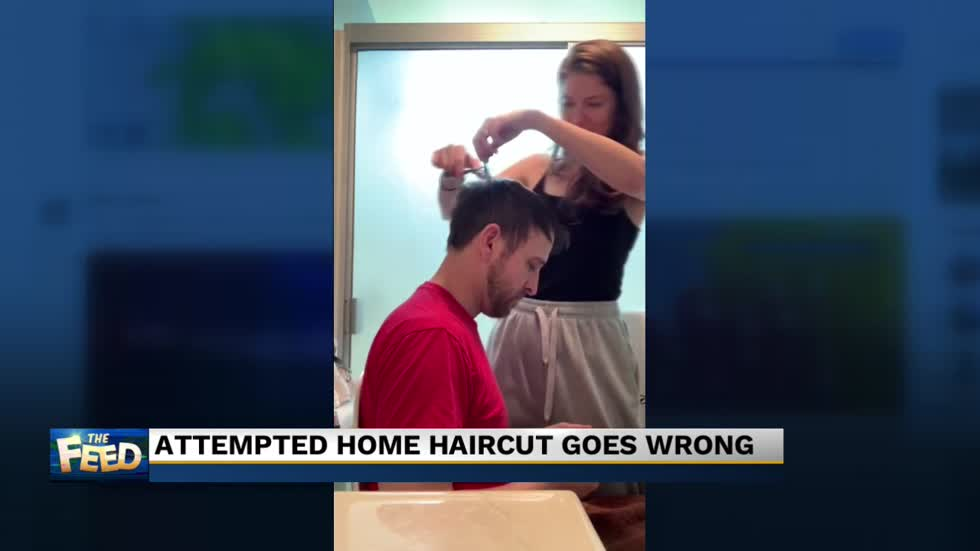 The Feed: Cutting hair at home