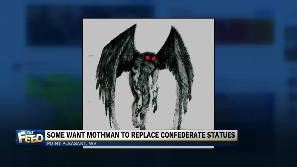 The Feed: Mothman statues