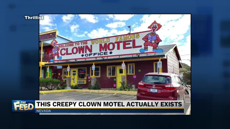 The Feed: Creepy clown motel