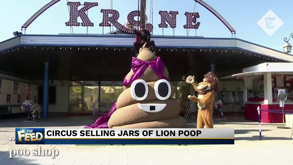The Feed: Lion poop for sale