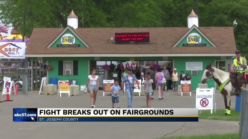 4-H County Fair officials respond to fairground brawl on Saturday