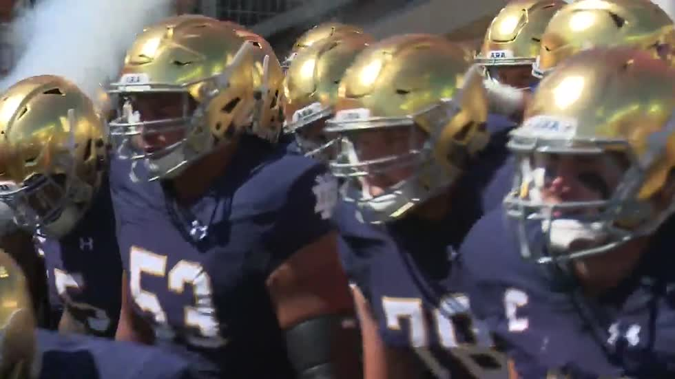 Fighting Irish players hoping to return home for dominant win