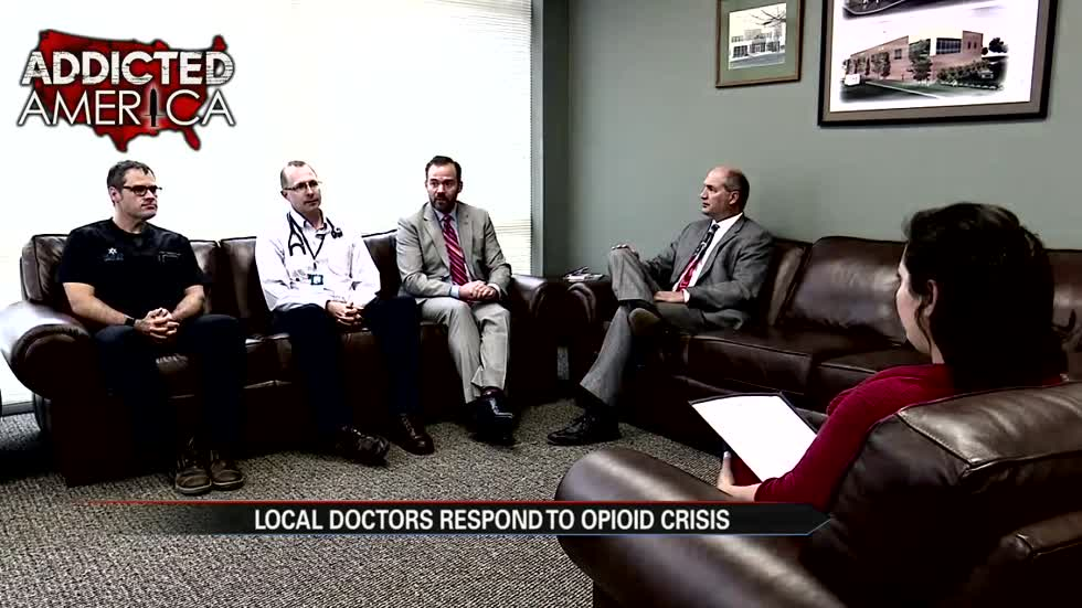 Fighting on the Frontlines: Local doctors respond to opioid crisis