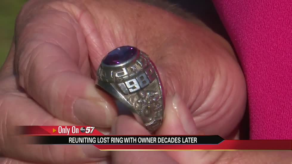 Ring lost in creek in 1983, found and returned to rightful owner
