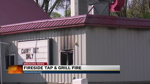 Fire at Fireside Tap & Grill
