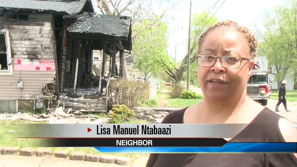 Home left destroyed after explosion, fire in Niles