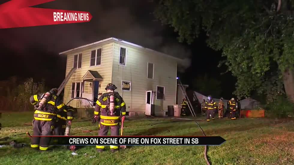 Fire destroys abandoned home in South Bend