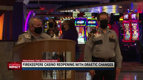 FireKeepers Casino reopening with big changes