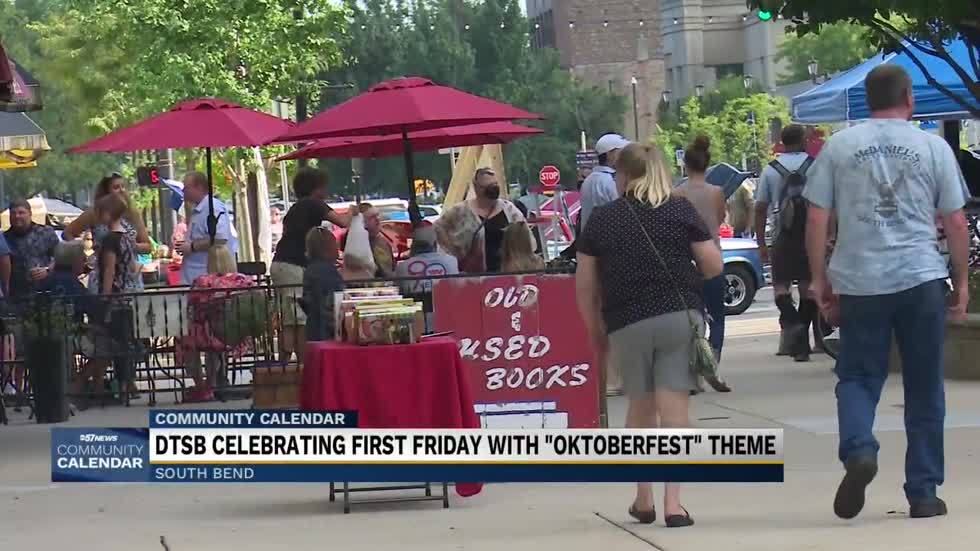 First Friday's theme this Friday will be Oktoberfest