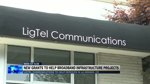 Local company receives grant to provide broadband internet to rural community