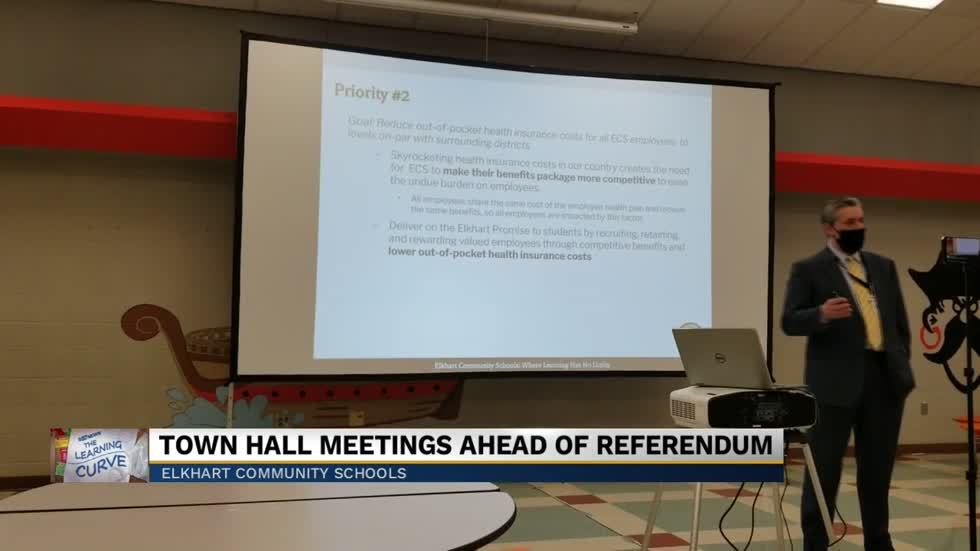 Elkhart Community Schools holds first of four town halls on referendum