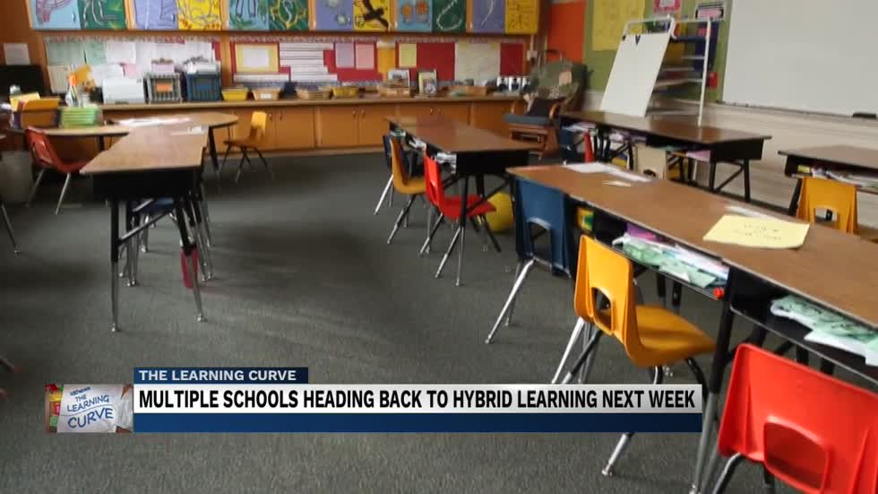 Five School Districts ready to begin return to the classroom