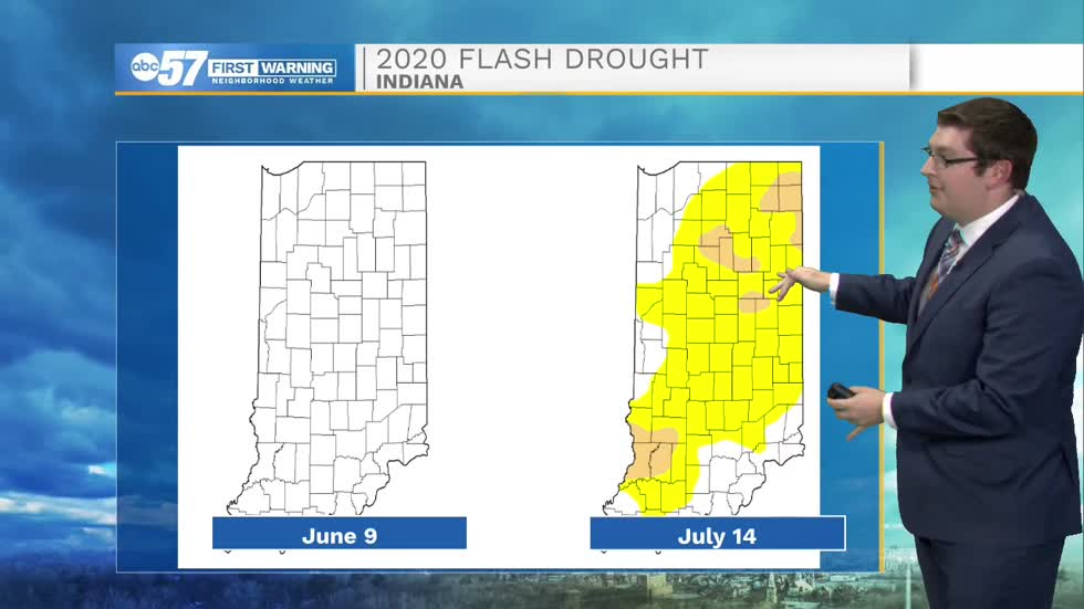 Drought in a flash: How no rain and high heat can be devastating