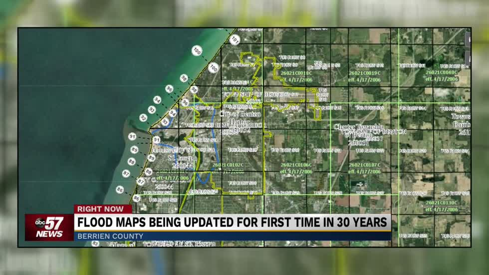 Flood maps being updated for first time in 30 years
