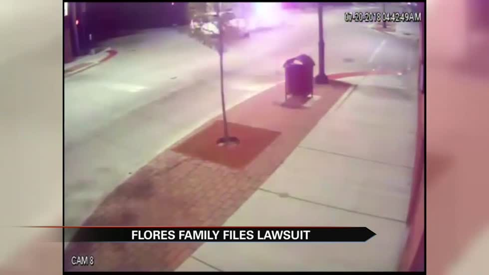 Flores family files wrongful death suit against former officer, city