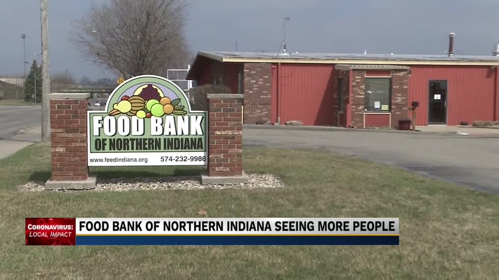 Food Bank of Northern Indiana switching to drive-thru service