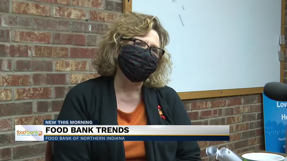 Food Bank of Northern Indiana trends during pandemic