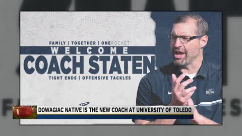 Football coach from Dowagiac hired by Toledo University