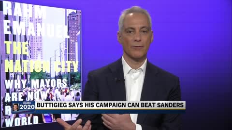 Former Chicago Mayor shows support for Pete Buttigieg