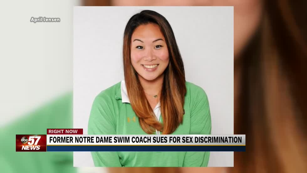 Former coach suing Notre Dame for gender discrimination