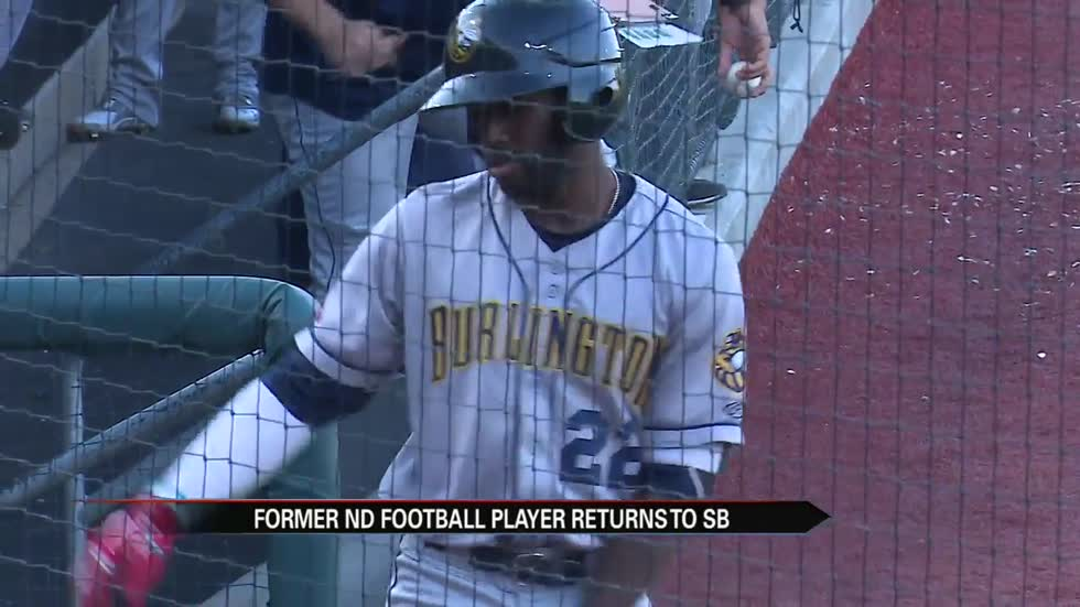 Former Irish receiver Torii Hunter, Jr. returns to South Bend against the Cubs