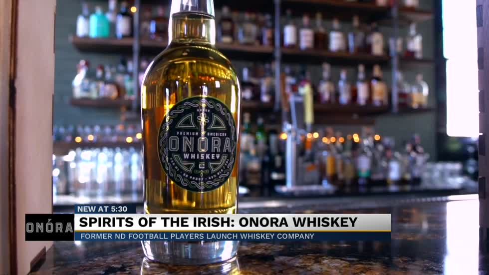 Former Notre Dame players launch Onora Whiskey