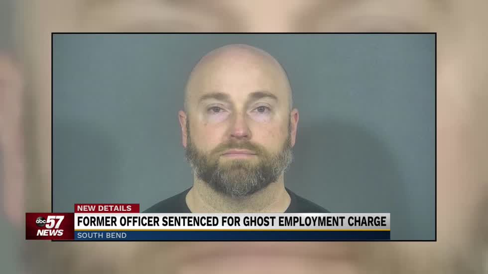 Former police officer sentenced on ghost employment charges