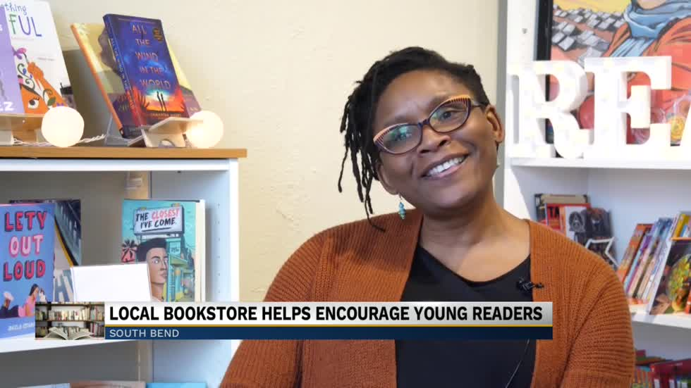 Former school librarian lines shelves of South Bend bookstore with inclusivity