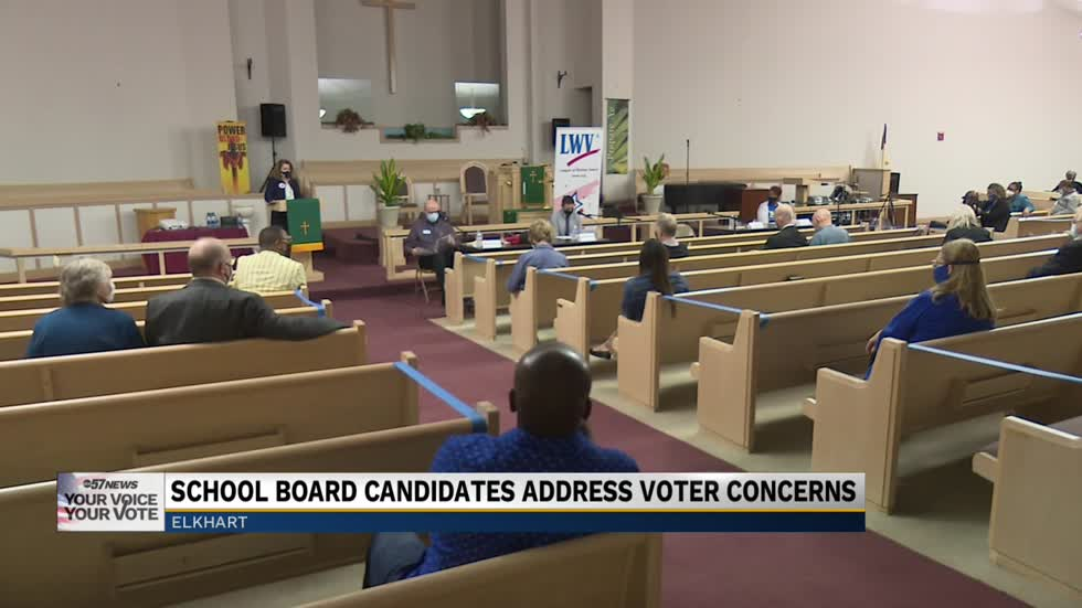 Forum held for Elkhart Community Schools Board candidates
