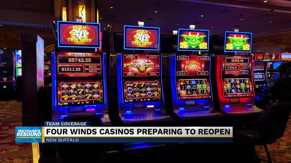 Four Winds Casinos prepares to reopen Monday