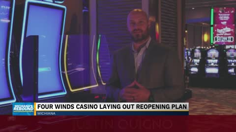 Four Winds Casino details precautions for reopening during COVID-19 pandemic