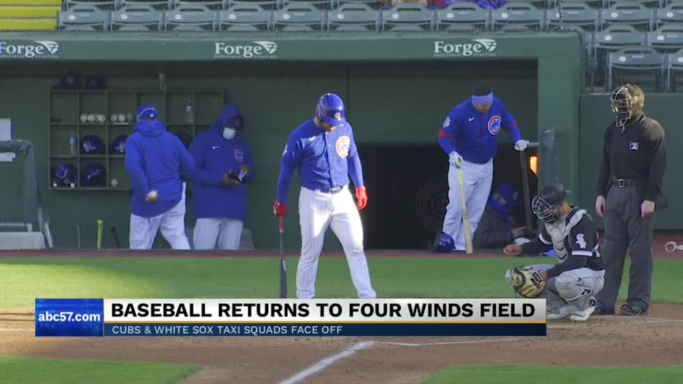 Chicago Cubs Triple-A team completes first baseball game at Four...