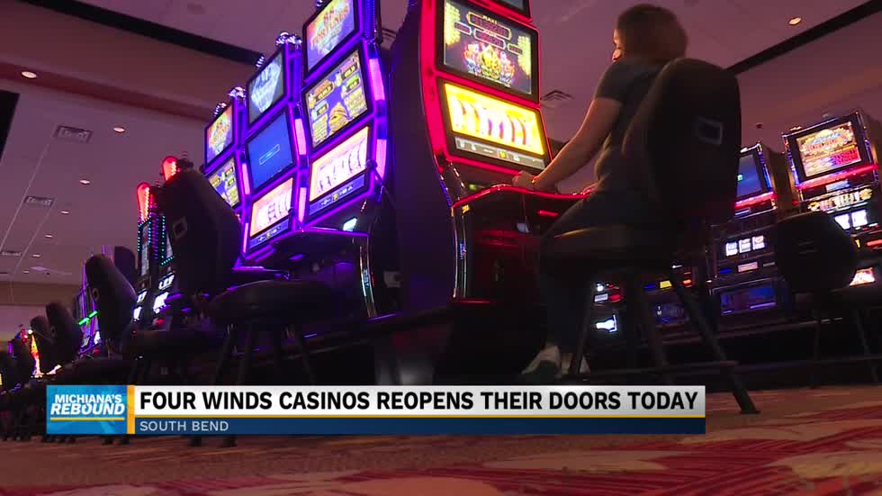 Four Winds South Bend reopens with precautions
