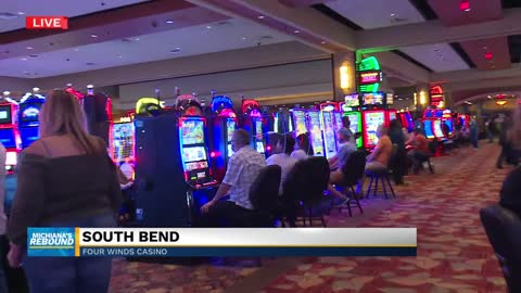 Four Winds South Bend reopens with precautions 3