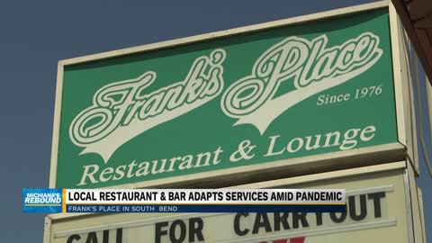 Frank's Place in South Bend now providing carry-out services