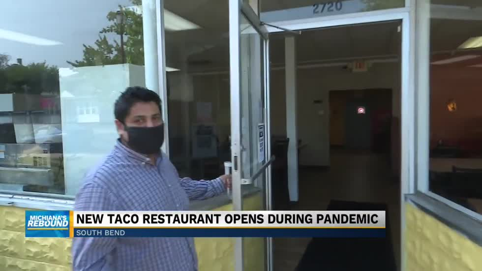 Franky's Tacos opens despite pandemic