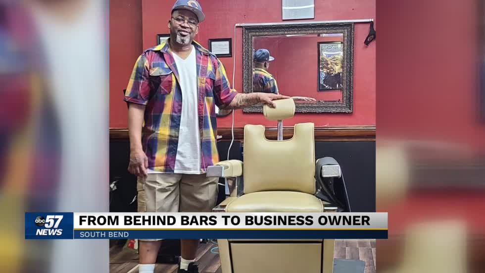 From behind bars to business owner