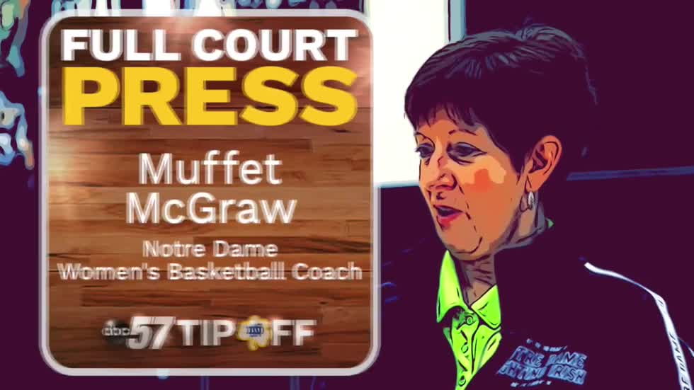 Full court press: Muffet McGraw